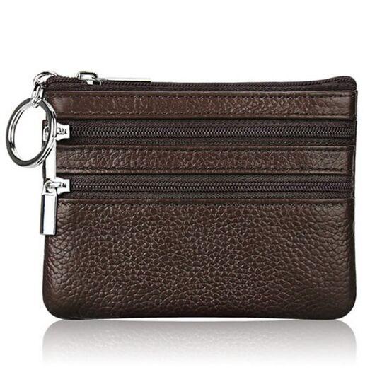 Мини кошелек, коричневый П3316
