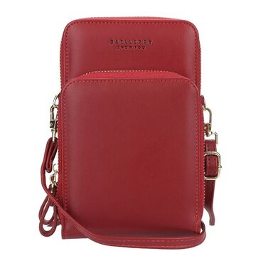 "Женская сумка клатч ""Baellerry"", красная П3332"