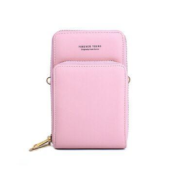 "Женская сумка клатч ""Baellerry"", розовая П3333"