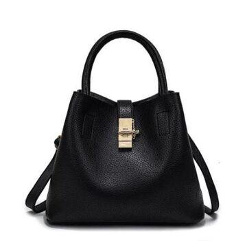 Женская сумка, черная П0235
