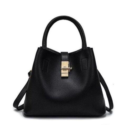 Женские сумки - Женская сумка, черная П0235