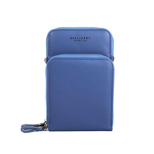 """Женская сумка клатч """"Baellerry"""", синяя П3336"""