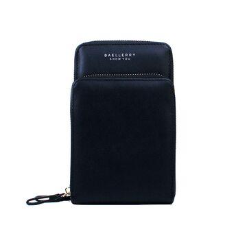 """Женская сумка клатч """"Baellerry"""", черная П3337"""