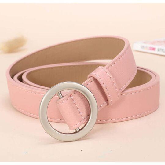 Женский ремень, розовый П3350