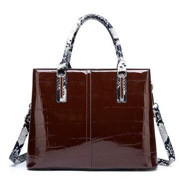 """Женская сумка """"FUNMARDI"""", коричневая П3362"""