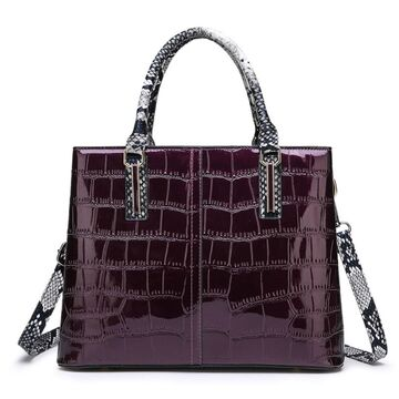 """Женская сумка """"FUNMARDI"""", фиолетовая П3363"""