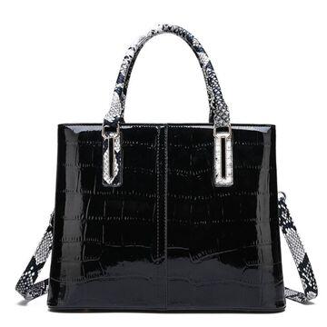 """Женская сумка """"FUNMARDI"""", черная П3364"""