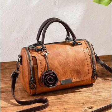 Женская сумка, коричневая П3371