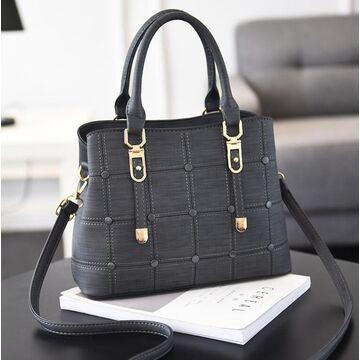 """Женская сумка """"ACELURE"""", серая П3374"""