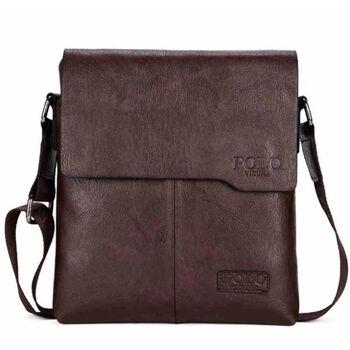 Мужская сумка VICUNA POLO, коричневая 0239