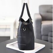 """Женская сумка """"ACELURE"""", черная П3376"""