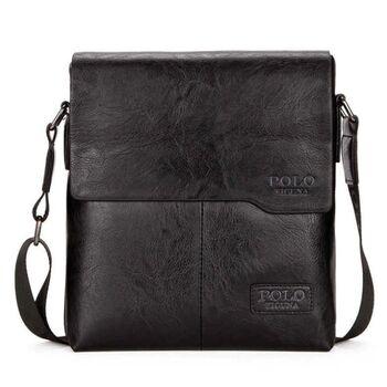 Мужская сумка VICUNA POLO, черная 0240