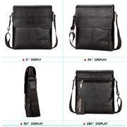 Мужские сумки - Мужская сумка VICUNA POLO, черная П0240