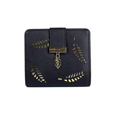 Женский кошелек, черный П0241