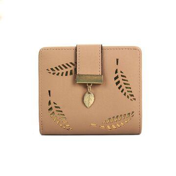 Женский кошелек, бежевый - П0242