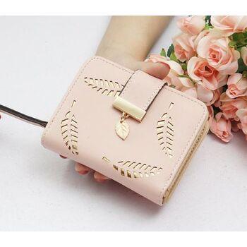 Женский кошелек, розовый 0243