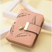 Женские кошельки - Женский кошелек, розовый П0243