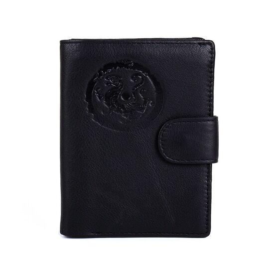 """Обложка для паспорта """"Contact'S"""", черная П3415"""