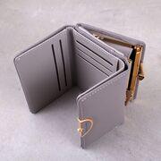 Женский кошелек, серый П3423