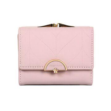 Женский кошелек, розовый П3425