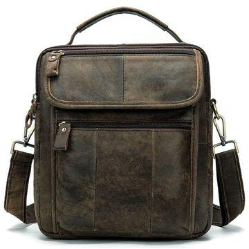 """Мужская сумка """"WESTAL"""", коричневая П3734"""
