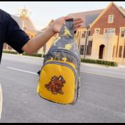 """Детская сумка слинг, """"Динозавр"""", П3742"""