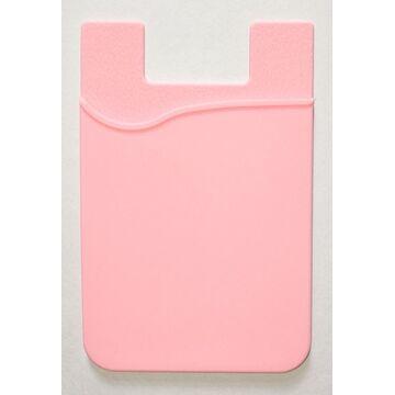 Визитница розовая П0247