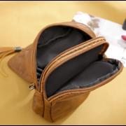 Женская сумка клатч, красная П3743