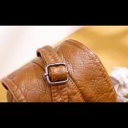 Женская сумка клатч, коричневая П3745