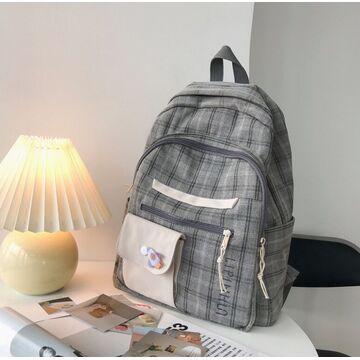 Женский рюкзак, серый П3746