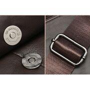 Мужская сумка на плечо из кожи, коричневая П3749