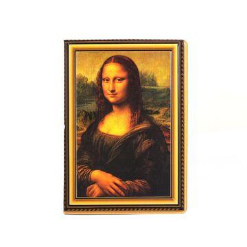 """Обложка для паспорта """"Мона Лиза"""", П3750"""