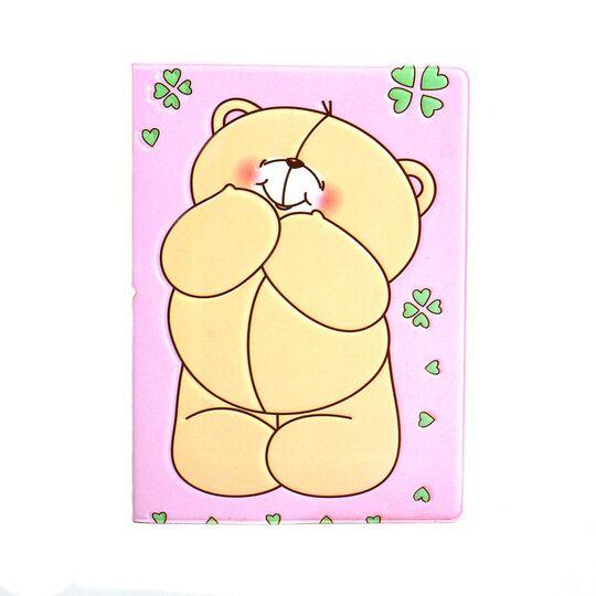 """Обложка для паспорта """"Медведь"""", П3751"""