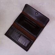 """Мужской кошелек """"JEEP BULUO"""", коричневый П3765"""