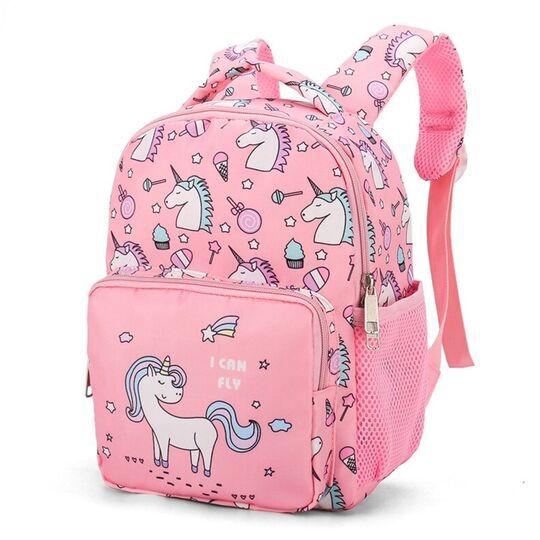 """Детские рюкзаки - Детский рюкзак """"Единорог"""", розовый П3769"""