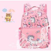 """Детские рюкзаки - Детский рюкзак """"Единорог"""", фиолетовый П3770"""