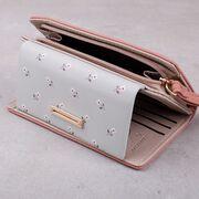 Женский кошелек, оранжевый П3778