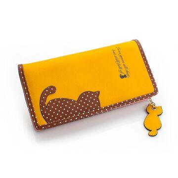 Женский кошелек, желтый П0250
