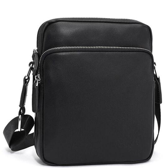 """Мужская сумка """"VORMOR"""", черная, П3794"""