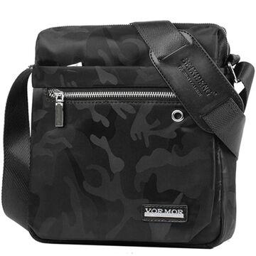 """Мужская сумка """"VORMOR"""", черная, П3797"""