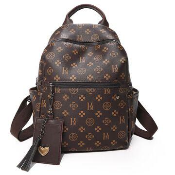 Женский рюкзак, коричневый П3799