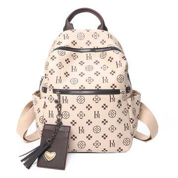 Женский рюкзак, белый П3800