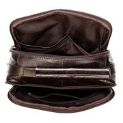 """Мужская сумка """"WESTAL"""", коричневая П3801"""