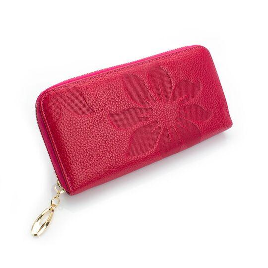 Женские кошельки - Женский кошелек, розовый П0252