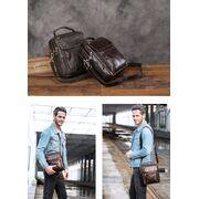 """Мужская сумка """"WESTAL"""", черная П3802"""