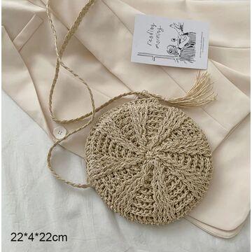 Женская вязанная  сумка-шопер, П3806