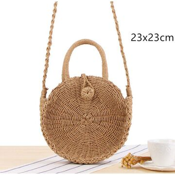 Женская соломенная сумка, П3808