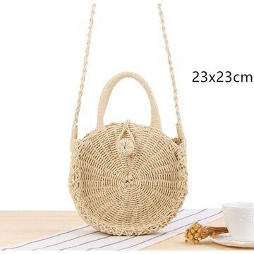 Женская соломенная сумка, П3809