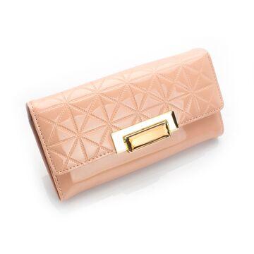 Женский кошелек, розовый П0253