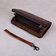 Женский кошелек, коричневый П3813
